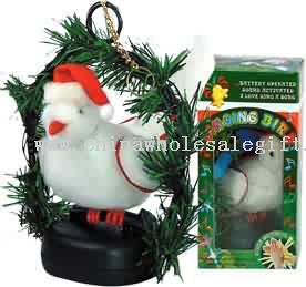 CHRISTMAS SINGING BIRD