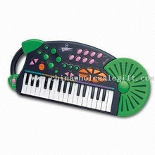 Auto-Stop Electronic Toy Keyboard images