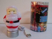 Santa claus USB Flashlight images