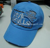 Washed embroidery caps images