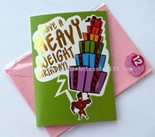 Recordable greeting card images