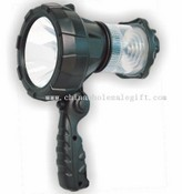 Rechargeable LED Spotlight with camping lantern images