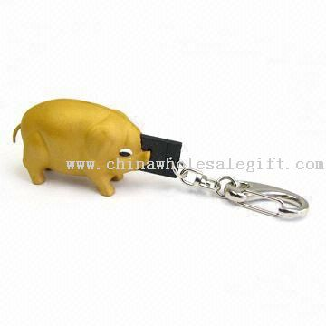 wholesale Keychain USB Flash Drive with Cute Pig Style,buy ...
