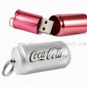 PopCan Flash Drive USB Flash Drive with Magnetic Lock and Mini Key Ring images