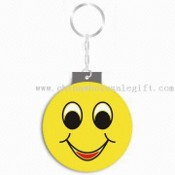 Promotional USB Flash Drive with Keychain and Capacity Ranging from 256MB to 8GB images