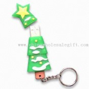 USB Flash Drive with Keychain images
