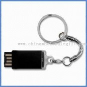 USB Flash Drive with Keychain and Storage Capacity of 2GB images