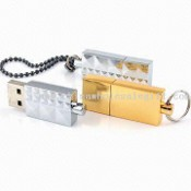USB Flash Drive with Keyring images