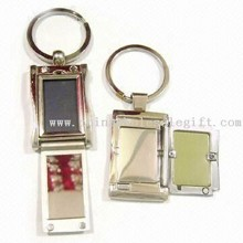 Metal Keychain Photo Frame with Lid images