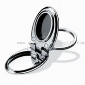 Metal Photo Frame Keychain with Split-ring Keyholder images