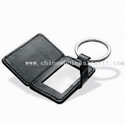 Novelty Leather Photo Frame Keychain images