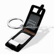 Novelty Leather Photo Frame with Keyring images