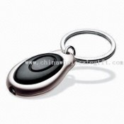 Promotional LED Keychain with Large Area to Print Customers Logo images