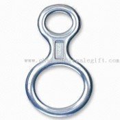 Aluminum Carabiner Keychain in Eight Shape images