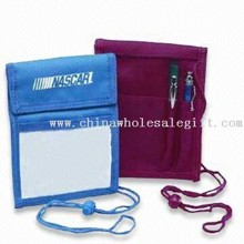 Promotional Badge Holders with String or Neck Lanyard images