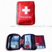 First-aid Kit in 420D Nylon Pouch images