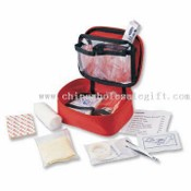 First Aid Kit with Transparent PVC Pouches images