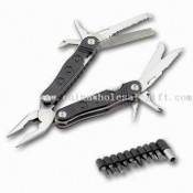 Multifunction Plier, Includes Pliers Head, Cutter and Knife images