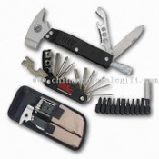 Multifunction Tools with Bicycle Tools and Nylon Pouch images