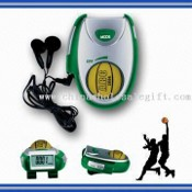 Basketball Pedometer with Step Counter and FM Radio images