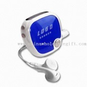 Promotional Pedometer with Radio and Earphone images