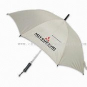Promotional Umbrella with Plastic Handle and Polyester Fabric images