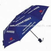 Three-fold Umbrella with Metal Frame images