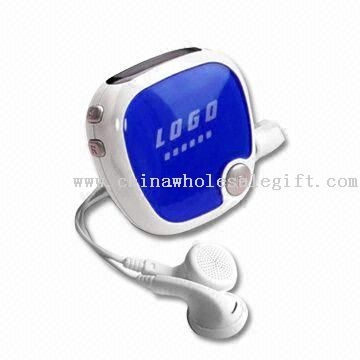 Promotional Pedometer with Radio and Earphone