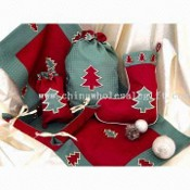 100% Polyester Christmas Decoration images