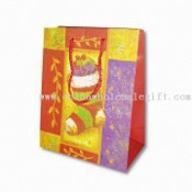 Paper Gift Bag with Christmas Theme images