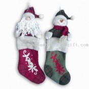 21-inch Christmas Stockings, Available in Red/Green Color images
