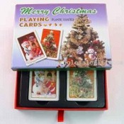 Christmas Drawer Set Playing Cards images