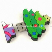 Christmas Tree Designed USB Flash Drive images