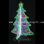 Green LED Motif Light, Available in Christmas Tree Design images