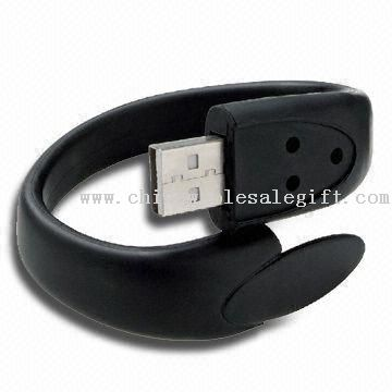 6MB to16G Wristband USB Driver Wristband USB/USB Flash, 64MB to 16G, Can be Used as Christmas and X-mas Gifts