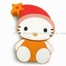 USB Flash Drive with Hello Kitty Design for Christmas and Promotional Gifts images
