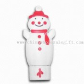 Christmas Snowman USB Flash Drive images