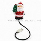 Funny USB Santa Claus Light, 7-color Glowing images