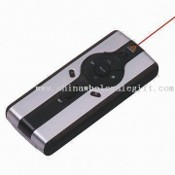 Wireless Presenter Mouse and Laser Pointer with Page Up/Down Function and 2.4GHz RF Frequency images