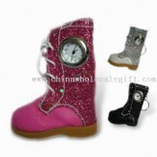 Mini Snow Boot Watch with Keychain images