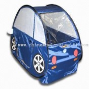 Childrens Play Tent with Spring Steel Wire images