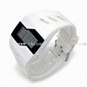 Fashionable Sports Watch with EL Background images