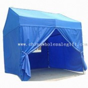 House Shape Aluminum Folding Tent Aluminum Folding Tent in House Shape images