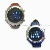 LED Binary Watches with Adjustable Alarm images