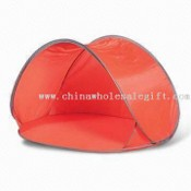Outdoor Tent with Spring Steel Wire images