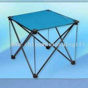 Folding Table w/ 2 Drink Holders images