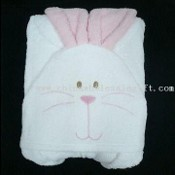 Hooded Bunny Beach Towel images