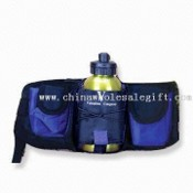 Aluminum Water Bottle with Waist Bag images