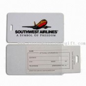 Luggage Tags with Silkscreen Printing images