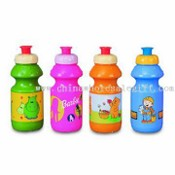 PE Sports Water Bottle with 400ml Capacity images